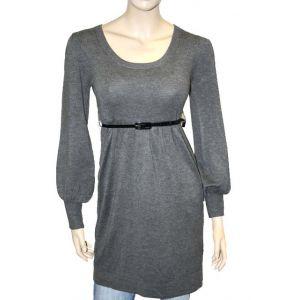 Brave Soul Kleid mit G?rtel LK-405213/WS