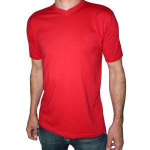 MIJAS Herren T-Shirt V-Ausschnitt Doppelpack Art. 50002