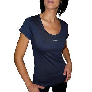 MIJAS Damen T-Shirt mit Chrystal Print Art. 55013