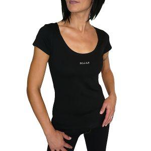 MIJAS Damen T-Shirt mit Chrystal Print Art. 55015