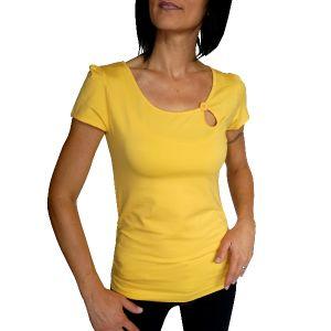 MIJAS Damen T-Shirt mit Chrystal Print Art. 55017