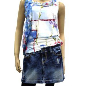 Sublevel Damen Jeans Rock D8145E5265D85
