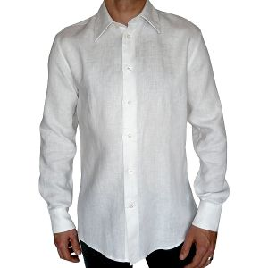 Tom Tailor Leinen Hemd Langarm