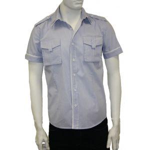 Yaris Jeans Herrenhemd 1/2 Arm YJ6880