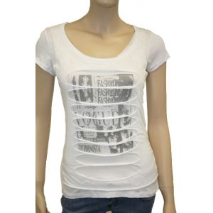Damen T-Shirt used Look
