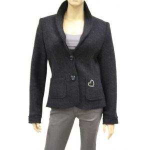 Paris Damen Woll-Blazer mit Strass