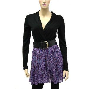 Sublevel Damen Kleid mit G?rtel D5004Y3178B