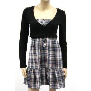 Sublevel Damen Kleid mit Bolero D7104Y3180A