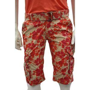 Eight2Nine Herren Bermuda Shorts Blumenmuster H7006N6077EZEN