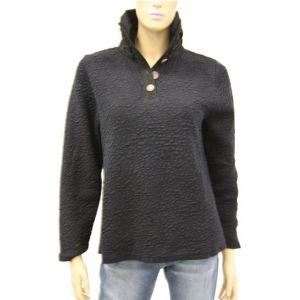 Blue Willi`s Damen Pullover Rüschenkragen 25065
