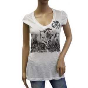 Sublevel Damen T-Shirt Pferd D1606D00113A