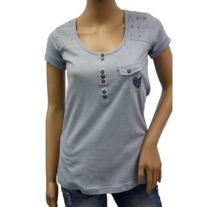 Sublevel  Damen T-Shirt ¬ Arm  D1618D00117A