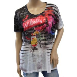 Open End Damen T-Shirt 83191-707