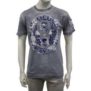 """Affliction Herren T-Shirt - A5086 - """" Muster Customs """""""