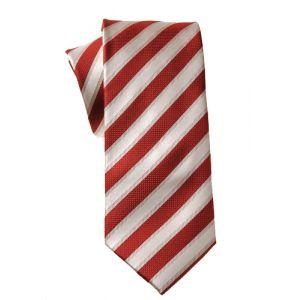 MIJAS Krawatte Design 4 red/cream