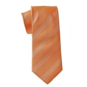 MIJAS Krawatte Design 11 apricot/cream