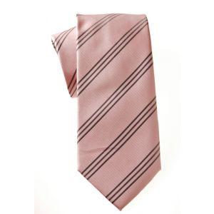 MIJAS Krawatte Design 11 rose/anthracit