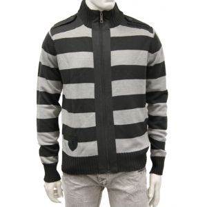 SUBLEVEL Herren Strickjacke H9000A92730A