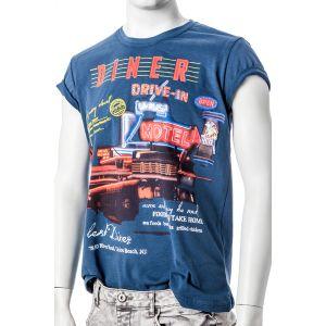 Stitch & Soul Herren Tshirt 1/2 Arm H151D 22034A