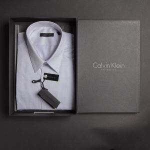 Calvin Klein Business Hemd gestreift 1/1 Arm   - 001500023-16-22 -