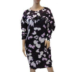 HUGO BOSS Seidenkleid Blumenmuster 50189207