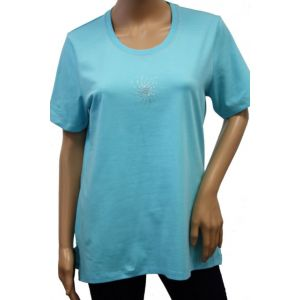 Bluhmod Damen T-Shirt 1/2 Arm Rundhals 8-1050