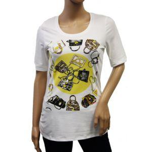 Studio E.B. Damen T-Shirt 1/2 Arm mit Aufdruck 8-1369