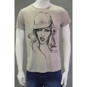 Sublevel Herren Druck T-Shirt H1606D22106A