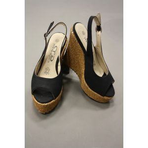 Makgio Damen Keilabsatz Sandale YS 2716-5
