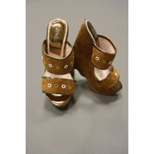 Makgio Damen Sandale mit Plateau Absatz DB 393-5