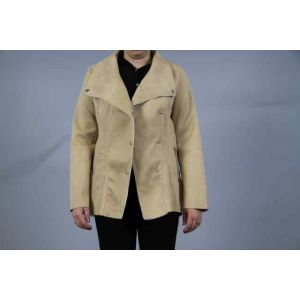 Spatial Jacke in Wildleder-Optik