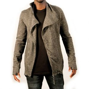 Sky Rebel Herren Sweatjacke 23400, dark grey