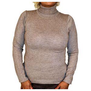 Louise Orop Damen Rollkragen Pullover L5-1004