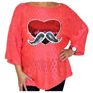 M+V Oversize Damen Pullover 8919